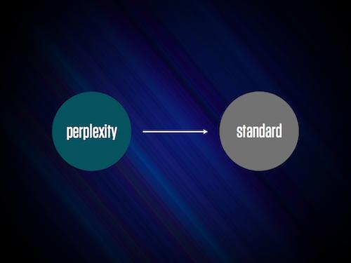 Perplexity, Then Standard